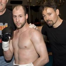 Marcus Bianconi and trainer Coach Craig